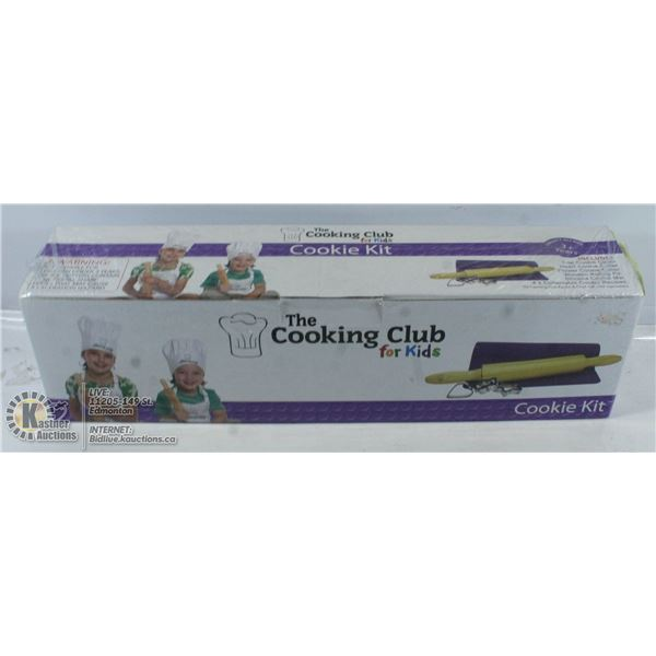 NEW THE COOKING CLUB FOR KIDS - COOKIE KIT