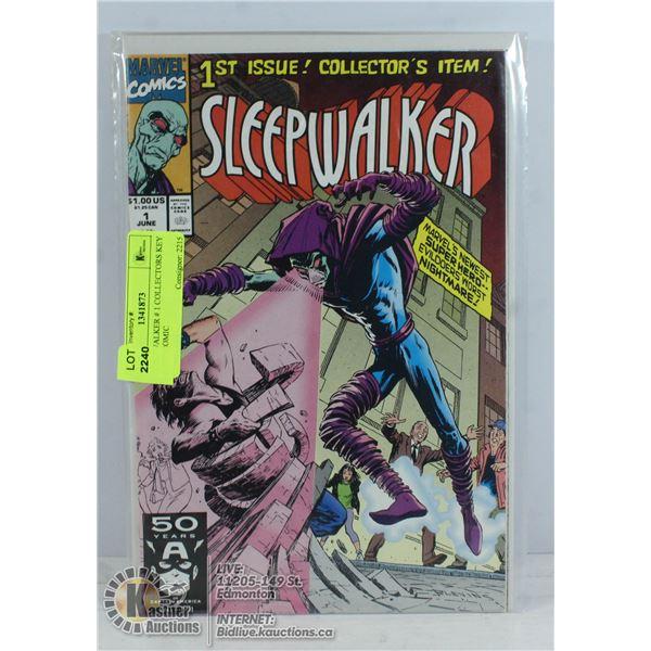 SLEEPWALKER # 1 COLLECTORS KEY ISSUE COMIC