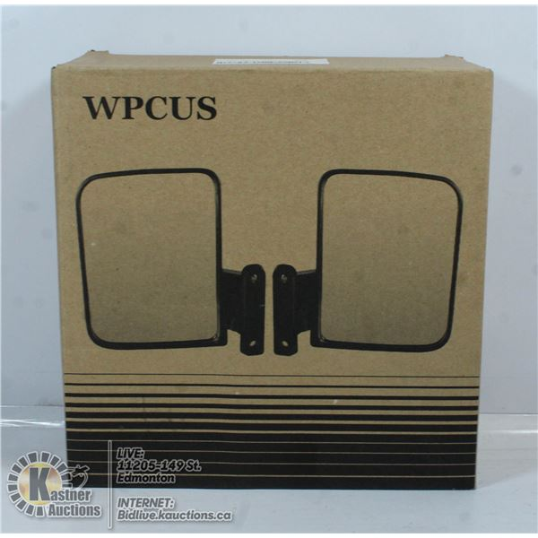 WPCUS GOLF CART SIDE MIRRORS