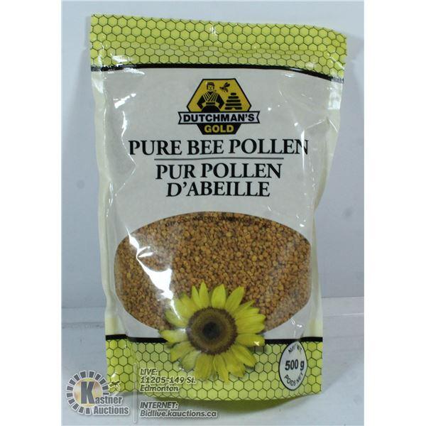BAG OF PURE BEE POLLEN. 500G.