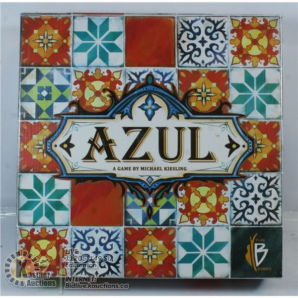 AZUL: A GAME BY MICHAEL KIESLING.