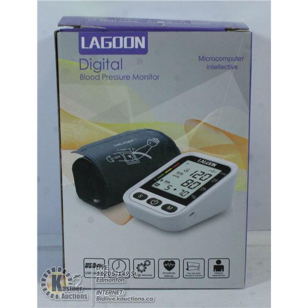 LAGOON DIGITAL BLOOD PRESSURE MONITOR.