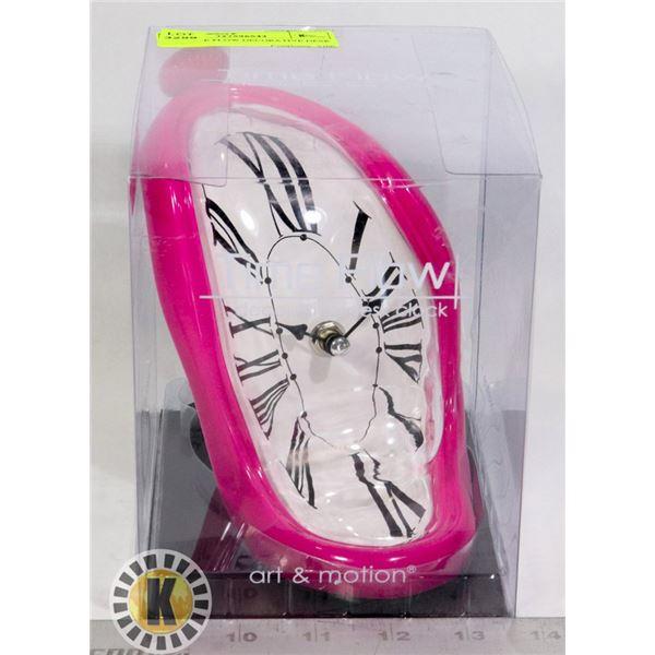 NEW TIME FLOW DECORATIVE DESK CLOCK