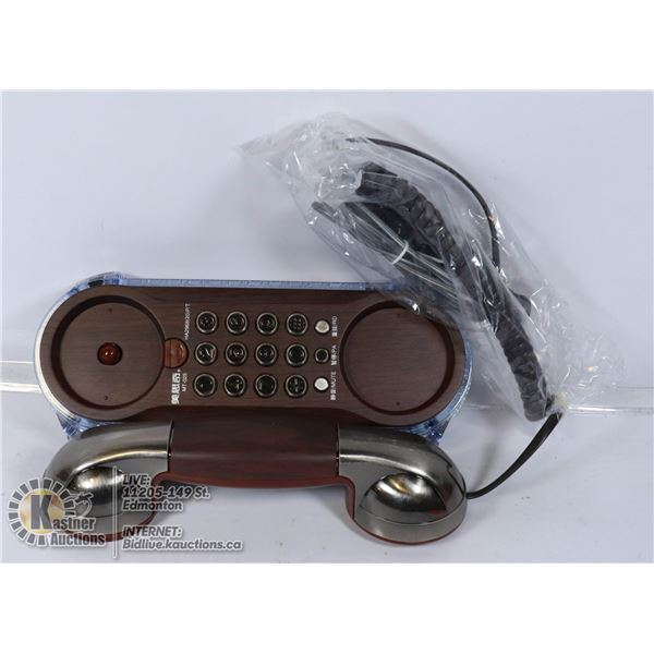 NEW ANTIQUE STYLE CORDED TELEPHONE