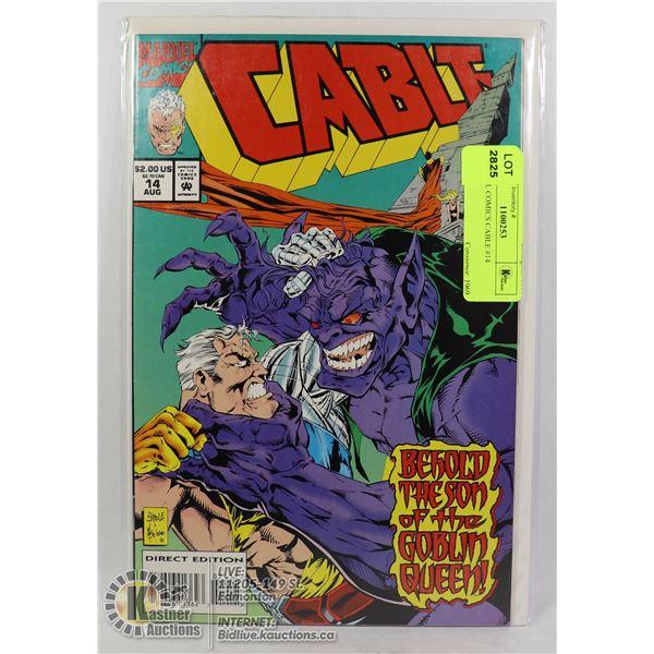 MARVEL COMICS CABLE #14
