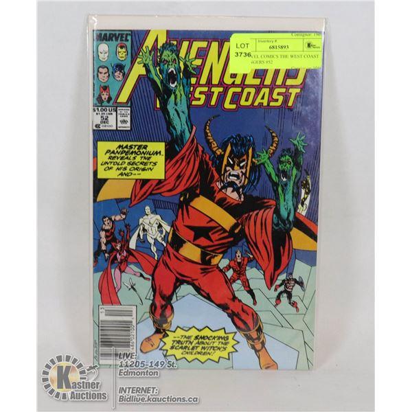 MARVEL COMICS THE WEST COAST AVENGERS #52