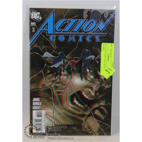DC ACTION COMICS #851 WITH 3D GLASSES
