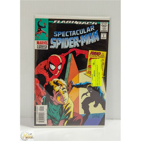SPECTACULAR SPIDERMAN #1 COLLECTOR COMIC