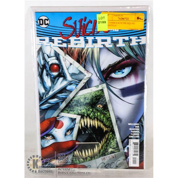 DC  COMICS SUICIDE SQUAD REBIRTH #1
