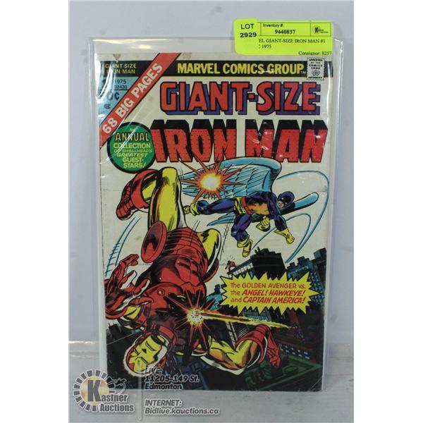 MARVEL GIANT-SIZE IRON MAN #1 COMIC 1975