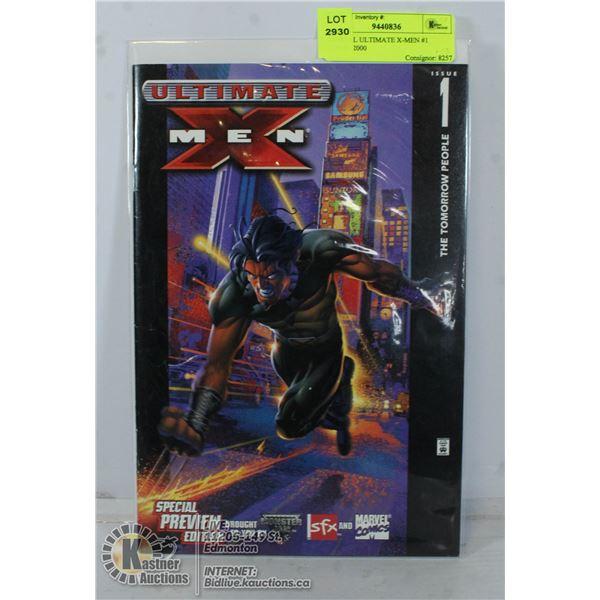 MARVEL ULTIMATE X-MEN #1 COMIC 2000