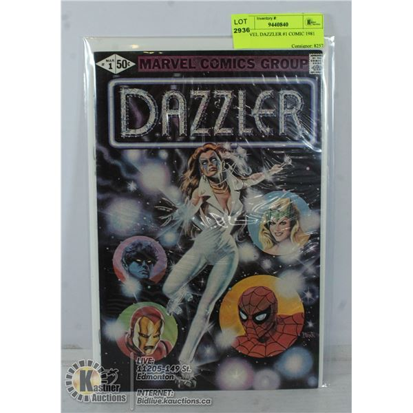 MARVEL DAZZLER #1 COMIC 1981