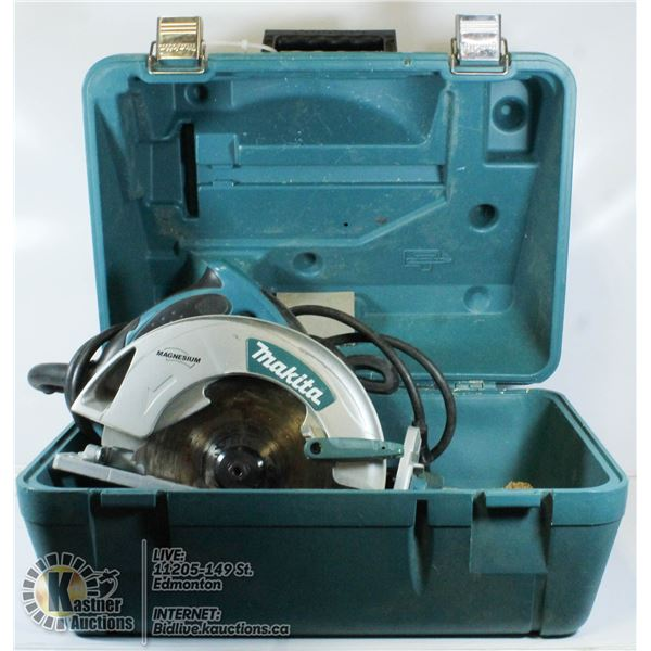 MAKITA SKILL SAW WITH CASE