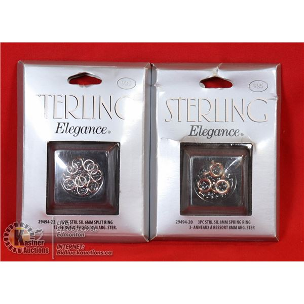 NEW SETS OF STERLING SILVER ACCESSORIES & DC