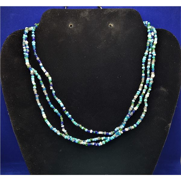 15)  NAVY BLUE, GREEN, WHITE , CLEAR AND
