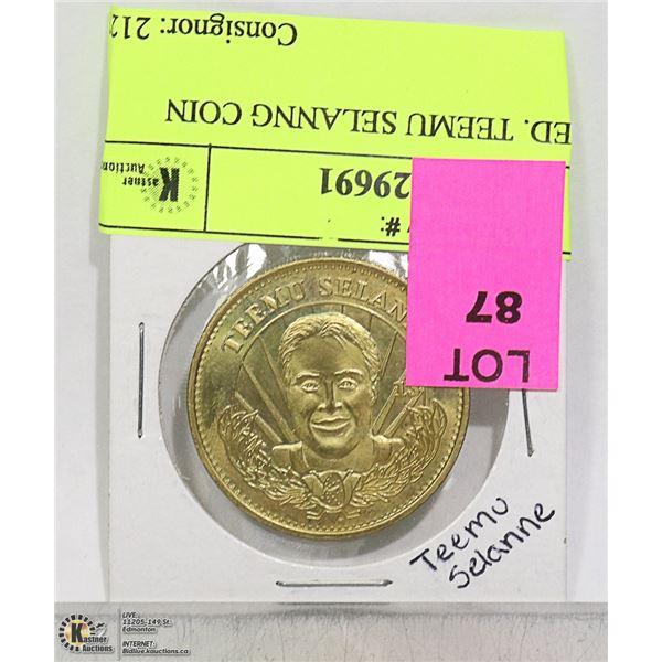 LTD ED. TEEMU SELANNG COIN