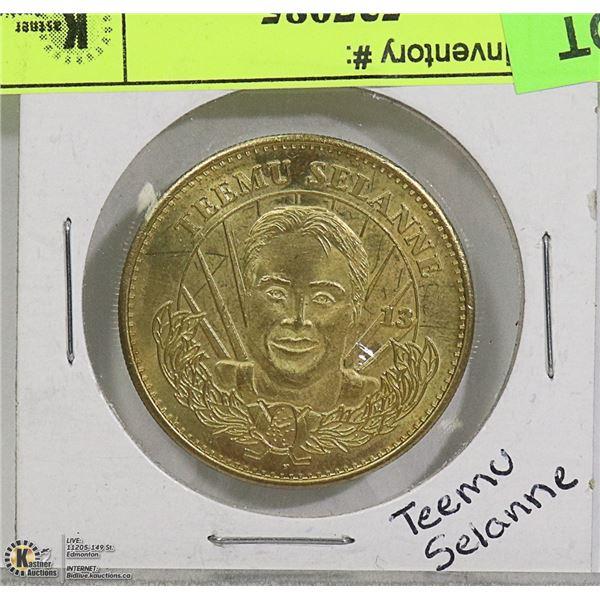TEEMU SELANNE 1996-1997 LIMITED EDITION COIN