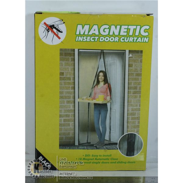 NEW MAGNETIC INSECT DOOR CURTAINS