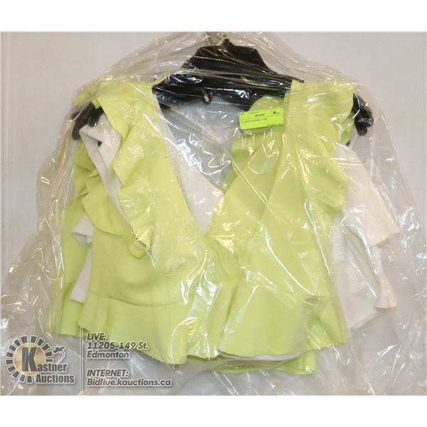 7 LARGE SUMMER TOPS
