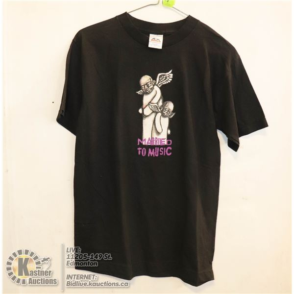 NEW MARRIED TO MUSIC SIZE SMALL T-SHIRT.