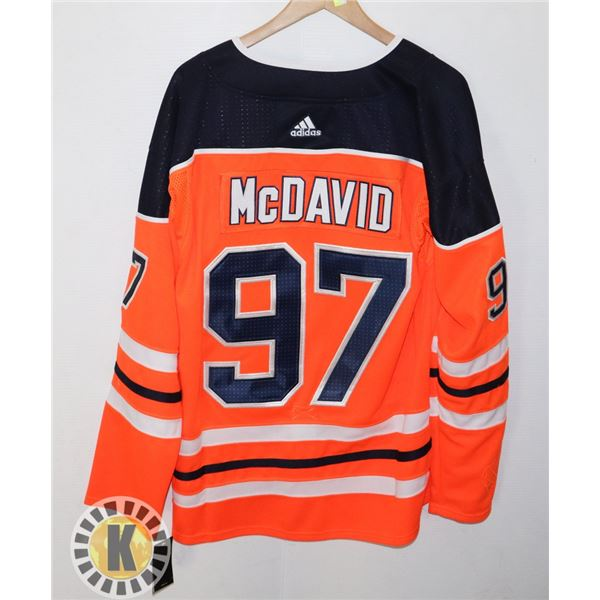 NEW CONNOR MCDAVID NUMBER 97