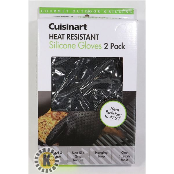 NEW 2PACK CUISINART HEAT RESISTANT SILICONE OVEN