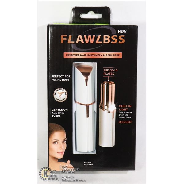 FLAWLBSS 18K GOLD PLATED HAIR REMOVER
