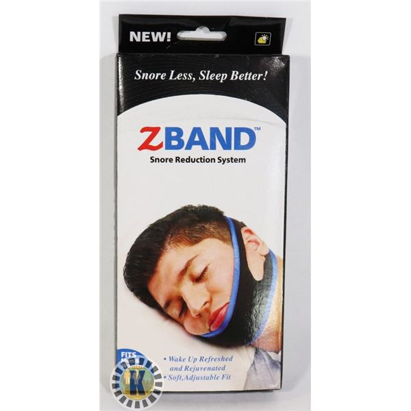 NEW ZBAND SNORE REDUCTION SYSTEM