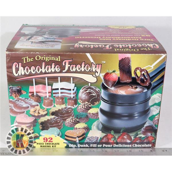 THE ORIGINAL CHOCOLATE FACTORY, UNUSED