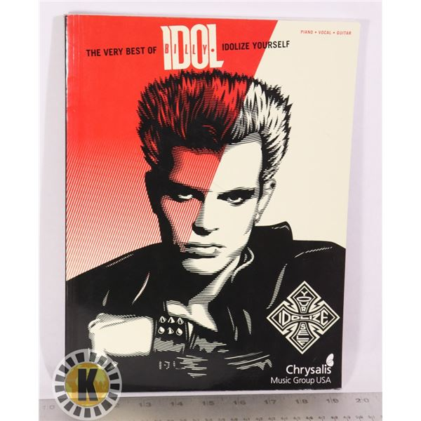 THE VER BEST OF BILLY IDOL PIANO, VOCAL, GUITAR BO