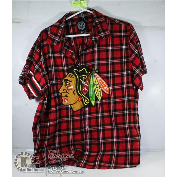 NHL CHICAGO BLACKHAWKS SIZE LARGE