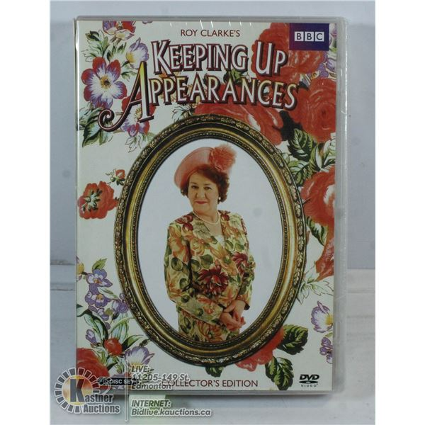 COLLECTOR'S EDITION KEEPING UP WITH APPEARANCES.