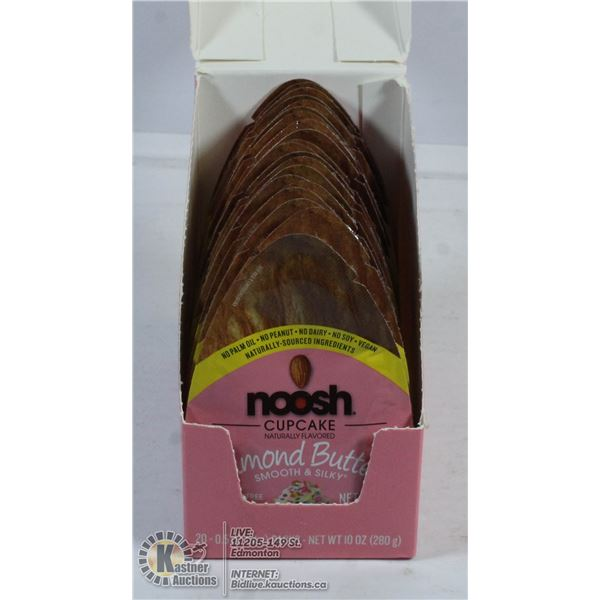 NOOSH ALMOND BUTTER 20 INDIVIDUAL SQUEEZE PACKS