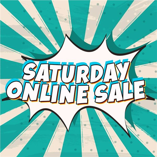 WELCOME TO YOUR KASTNER SATURDAY ONLINE ONLY AUCTION!