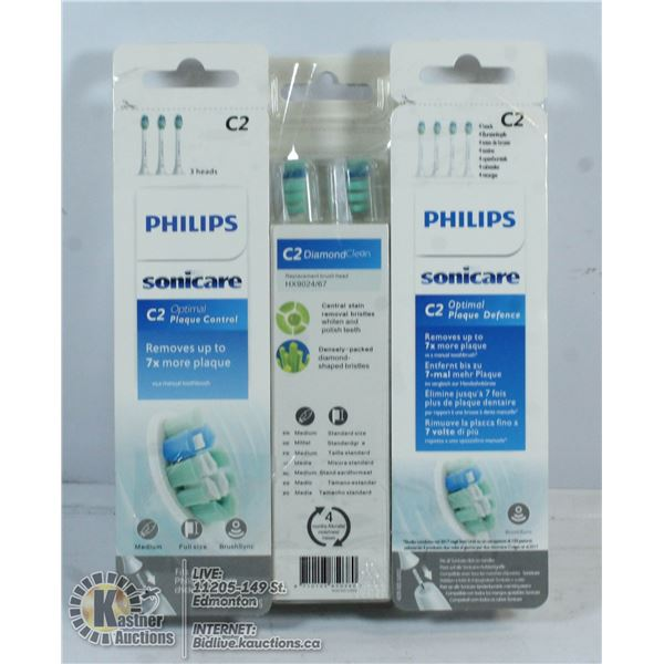 SONICARE 11 REPLACEMENT HEADS