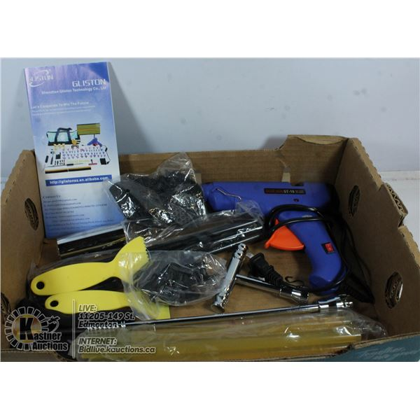 AUTOMOTIVE DENT REMOVAL TOOLS.