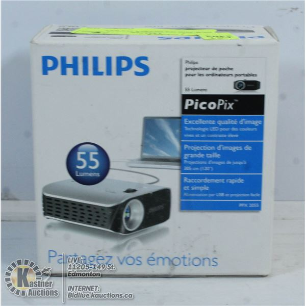 NEW PHILIPS PICOPIX POCKET