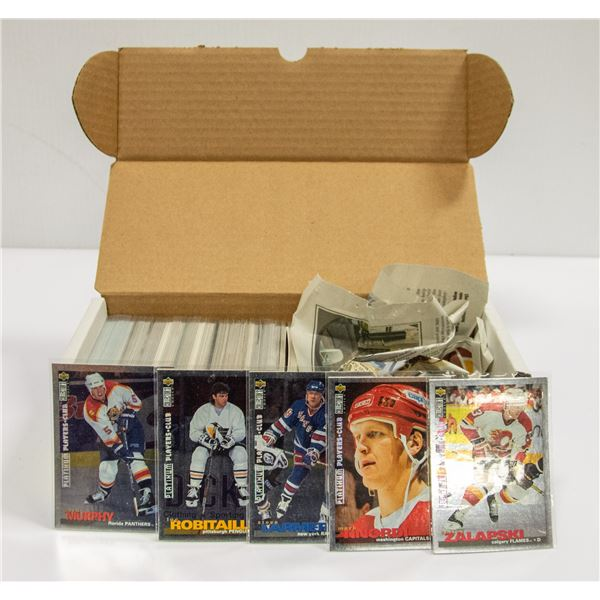 200 HOCKEY CARD INSERTS ONLY ESTATE COLLECTION