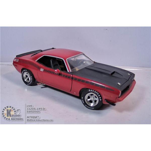 1970 ERTL CUDA DODGE 340 SIX PACK