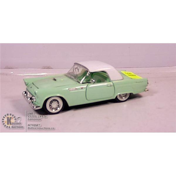 DIE CAST VEHICLE - 1956 FORD THUNDERBIRD