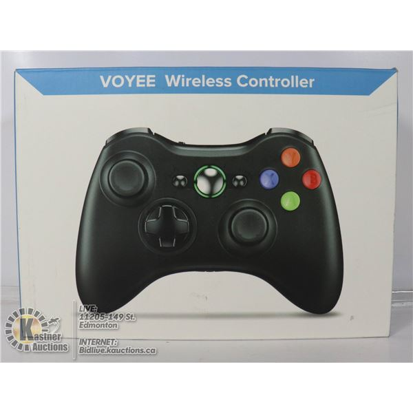 WIRELESS CONTROLLER FOR XBOX 360.