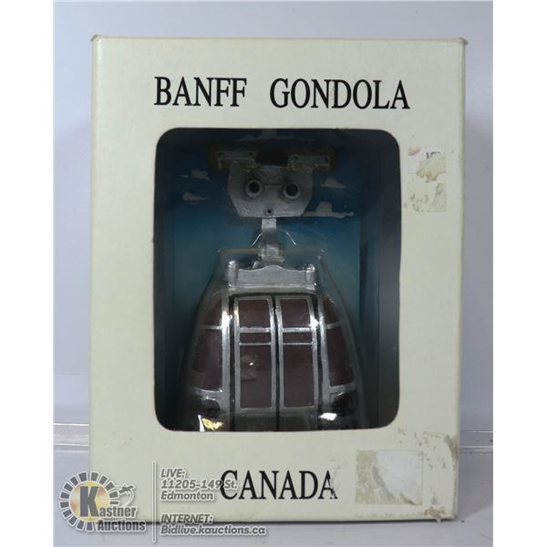 NEW BANFF GONDOLA MINIATURE