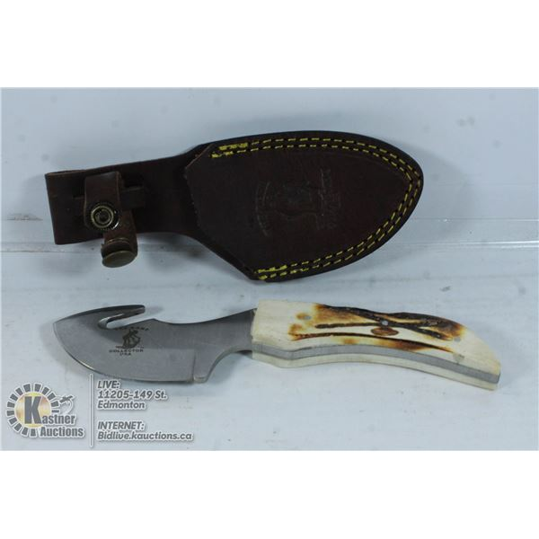"""NEW BONE COLLECTOR440 STAINLESS STEEL 7.5"""" KNIFE"""
