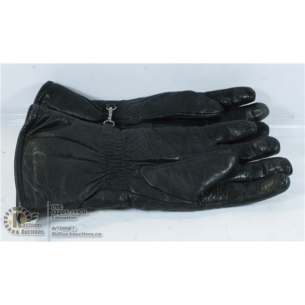LADIES MOTORCYCLE GLOVES FOR COOL WEATHER