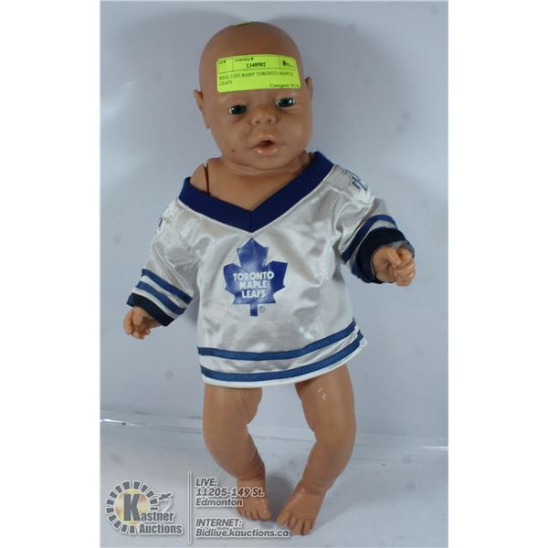 REAL LIFE BABY TORONTO MAPLE LEAFS