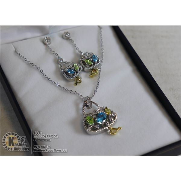 FASHION JEWELRY NECKLACE AND EAR RINGS