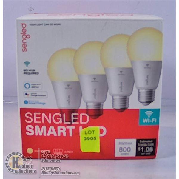 SENGLED SMART LED 4 PACK.