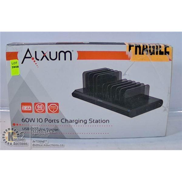 ALXIUM 60W 10 PORT CHARGING STATION.