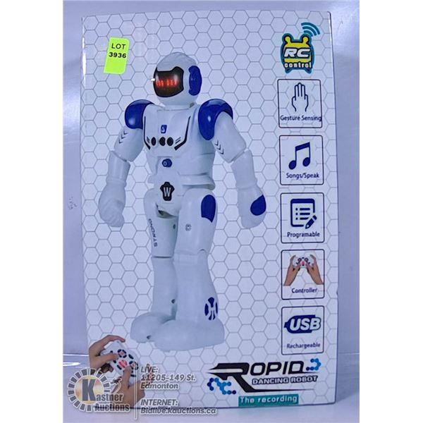 ROPID DANCING RC ROBOT.
