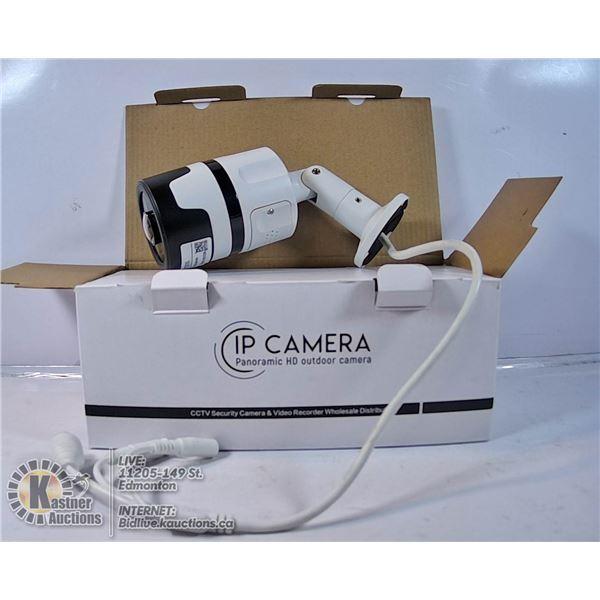 IP CAMERA PANORAMIC HD OUTDOOR CAMERA.